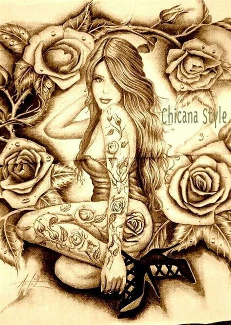 chicano hair style chicana style brown pride pinterest latinas