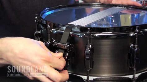 tutorial snare drum soundland tutorials snareteppich wechseln snare