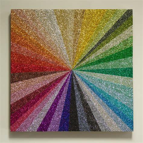 glitter painting robin schwartzman glitter galore