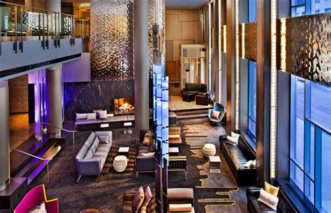 Living Room W Hotel Nyc by Hotel W Interior Interior Design