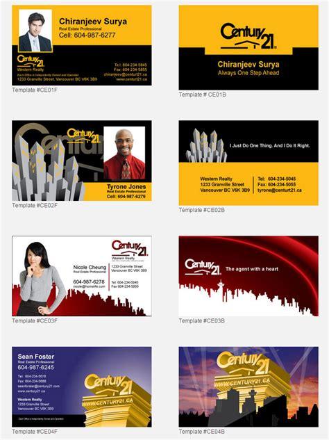 Diy Century 21 Business Cards Template by Century 21 Design Templates Unico Print Media