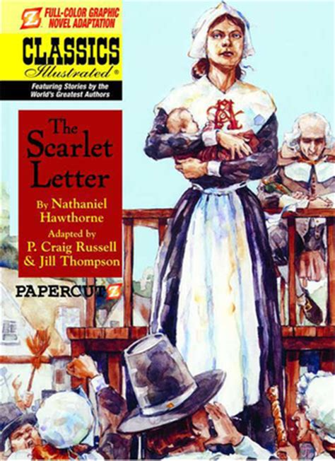 scarlet letter graphic   p craig russell