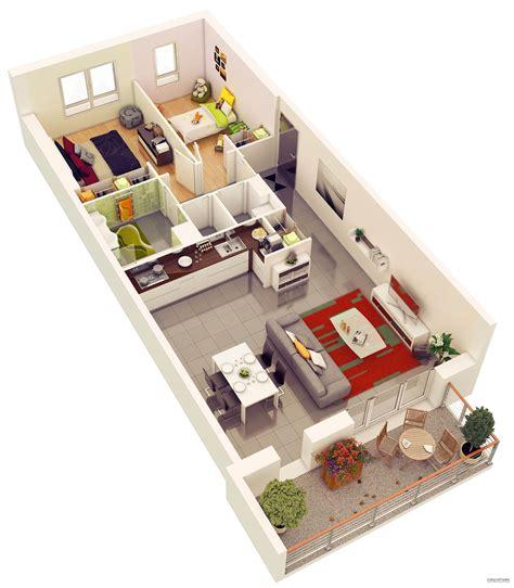 25 More 2 Bedroom 3d 25 More 2 Bedroom 3d Floor Plans Amazing Architecture