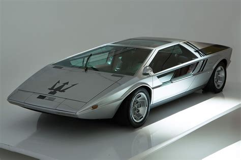 Maserati Boomerang самый иррациональный итальянский концепт