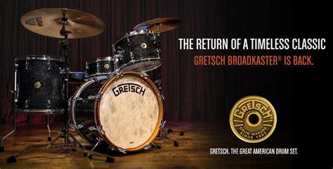 Jazz Drum Dus 6684 gretsch broadkaster shellsets in een nieuw jasje