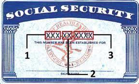 ssn card template validating social security numbers through regular
