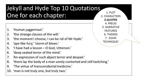 dr jekyll and mr hyde chapter 3 themes english literature igcse session two ppt download