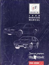 motor auto repair manual 1988 buick electra free book repair manuals 1988 buick auto repair manuals