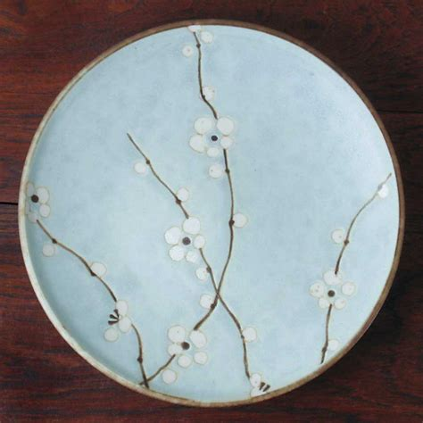 Blossom Free Plate cherry blossom lunch plate japanese dinnerware japanese