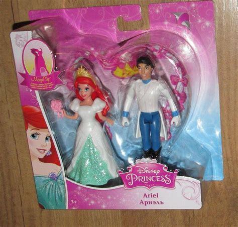 Wedding Magiclip Dolls Uk by Mattel Disney Princess Ariel Fairytale Wedding Prince Eric