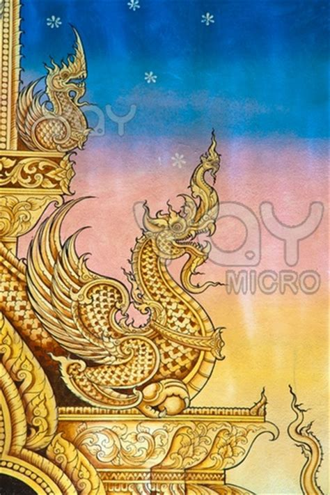 watercolor tattoo thailand vintage traditional thai style painting island info
