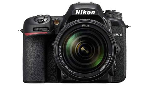 nikon dslr price nikon d7500 dslr price in india specification features