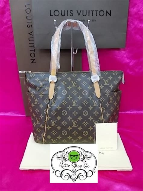 louis vuitton monogram canvas totally bag  star euro