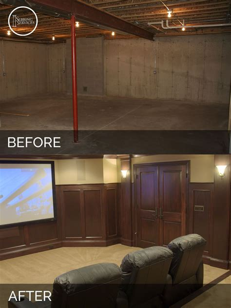 steve elaine s basement before after pictures more