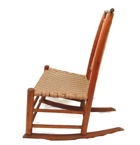 antique child s shaker rocking chair maple 1890 from