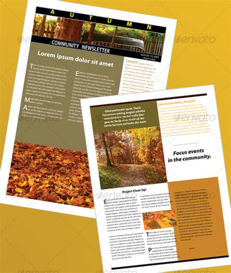 newsletter templates free indesign