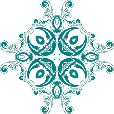 design art png clipart vintage floral style design 5