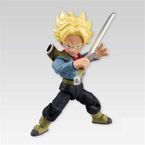 z figures bandai ss trunks figure bandai 66mm import toys