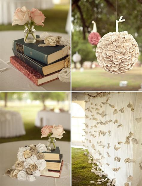 book themed decorations scrabble crosswords books oh my weddingbee