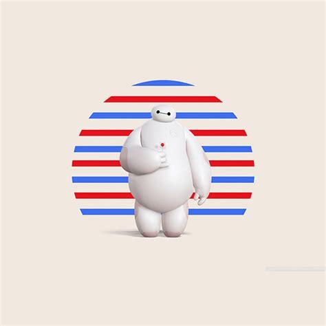 wallpaper android baymax af90 big hero 6 baymax disney art illust