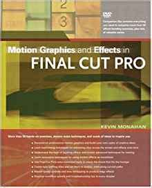 final cut pro amazon motion graphics and effects in final cut pro kevin