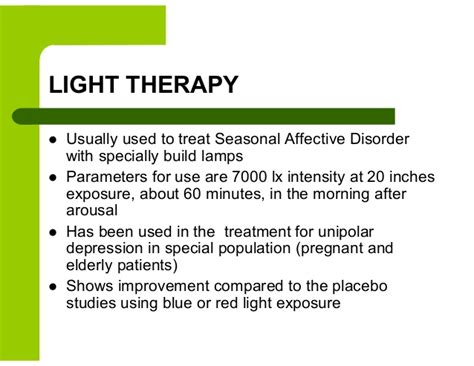 light therapy l for depression alternative therapy treatments for depression and anxiety