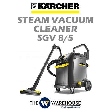Karcher Sg 44 Steam Cleaner Professional karcher steam vacuum cleaner sgv 8 5 malaysia thewwarehouse