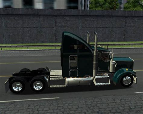 simulator game mod 18 wos haulin w900l 18 wos haulin simulator games mods download
