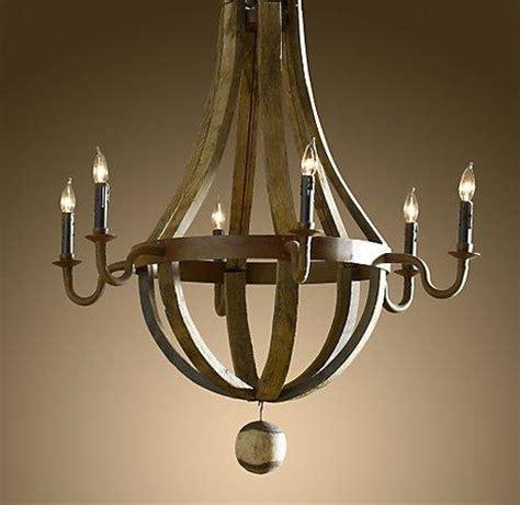 wine barrel chandelier wine barrel 6 arm chandelier lighting