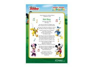 mickey mouse song lyrics mickey mouse clubhouse lyrics disney junior ichild