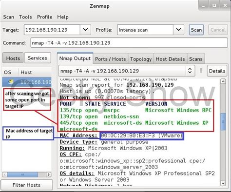 kali linux zenmap tutorial how to use zenmap in kali linux hack the knox