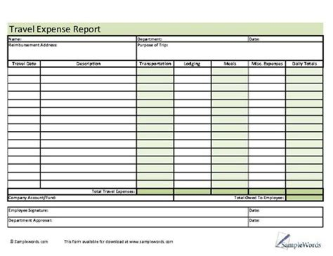 78 Best Images About Business Forms On Pinterest Refinance Calculator Vehicles And Logs Travel Expense Log Template