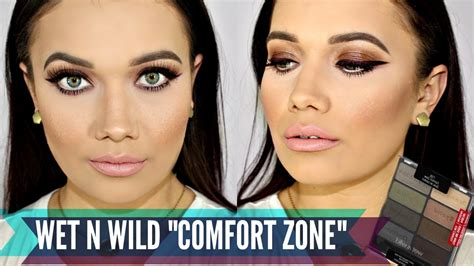 comfort zone tutorial smokey brown eyes wet n wild comfort zone quot palette