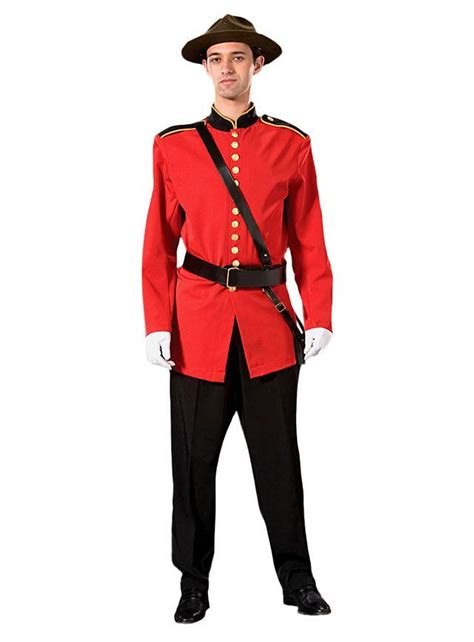 horse themed clothing canada mountie costume