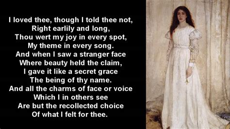 themes in first love by john clare great love poem the secret by john clare with text youtube