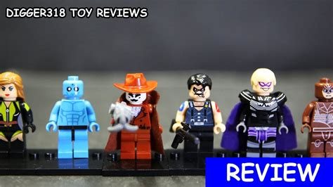 Mainan Lego Heroes Xinh 2 lego dc superheroes watchmen xinh bootleg x0131 dr manhattan comedian rorschach review