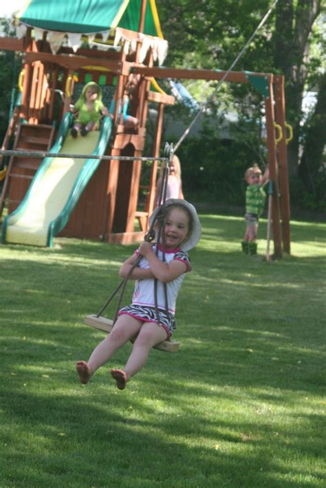 backyard zipline for kids zip line kids stuff pinterest