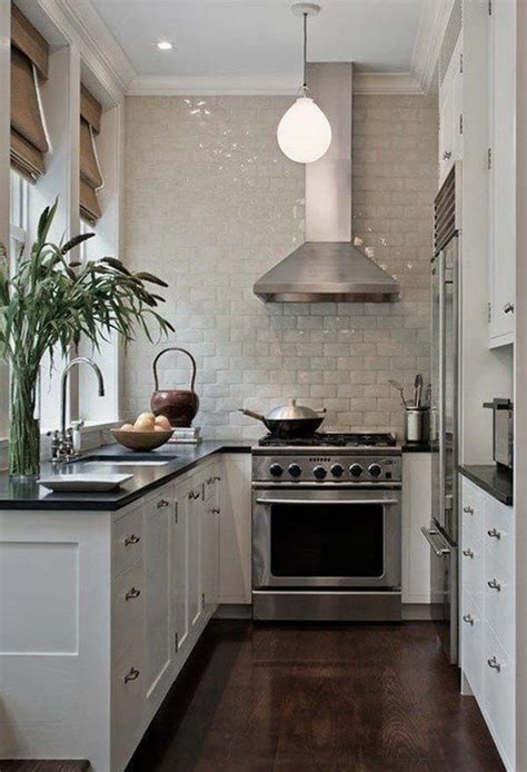 Small Narrow Kitchen Design by 19 Practical U Shaped Kitchen Designs For Small Spaces