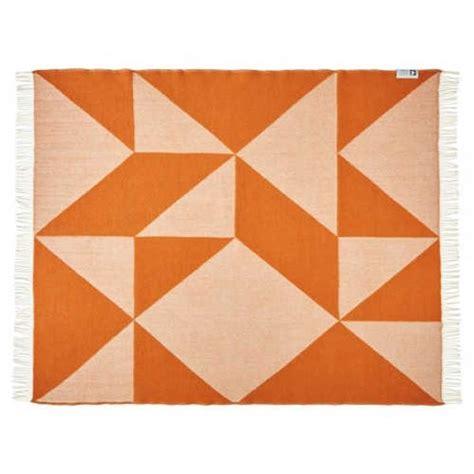 decke tina ratzer focus on twill orange geometrisch - Decke Orange