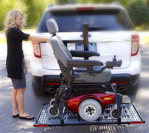 power chair carriers for cars patriotic electric power wheelchair scooter vehicle auto