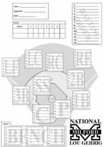 baseball fielding lineup template baseball score sheets actual screenshot from baseball