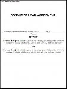 Certification Letter For Borrowing Money loan agreement template formats examples in word excel