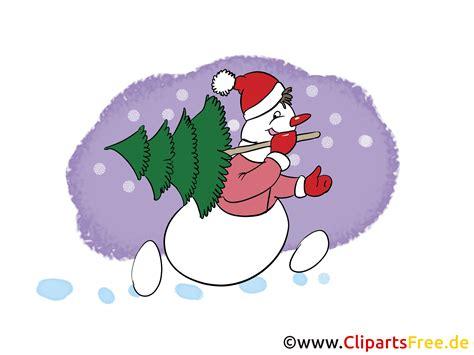 gratis silvester bild clip art cartoon mit schneemann