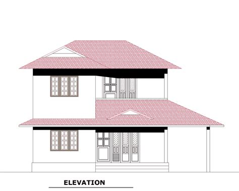 3 bedroom house plan elevation kerala villa plan at 3189 sq ft