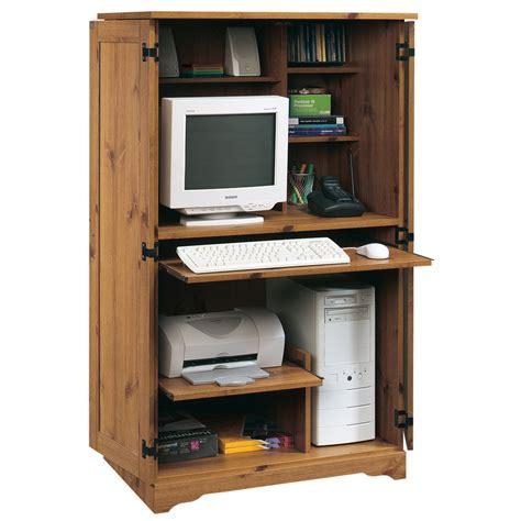 Computer Desk Pine Shop Sauder Sugar Creek Spiced Pine Computer Desk At Lowes