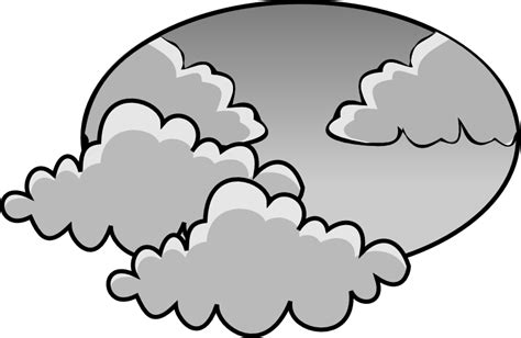 black to grey colored clip cloudy day clipart clipart suggest