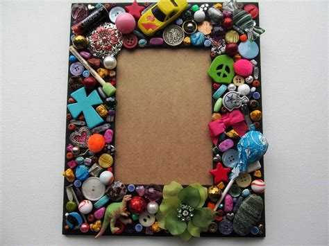 Handmade And Craft Ideas - handmade photo frame craft project projects ideas