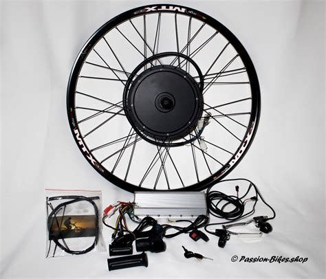 E Bike 3000 Watt by Passion Bikes E Bike Umbau Kit 3000 Watt Heck Motor 28