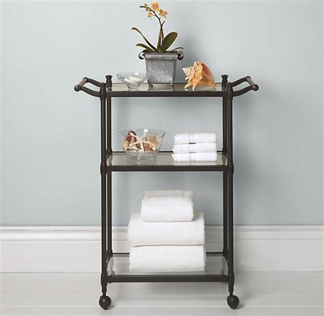 bathroom rolling cart newbury rolling bath cart file cabinet pinterest