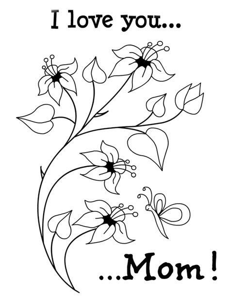 i love my mommy coloring pages az coloring pages